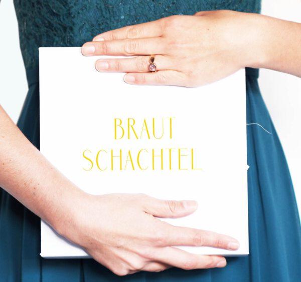 DIY Hochzeitplanung Braut Schachtel