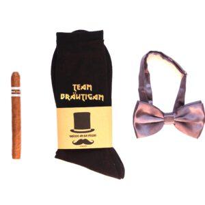 Geschenk Trauzeuge - Team Bräutigam Socken