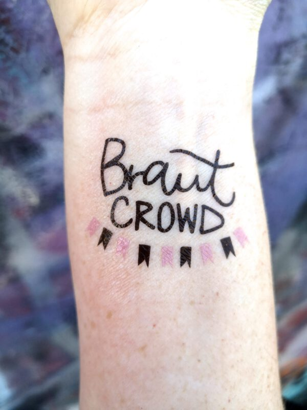 Braut Crowd tattoo