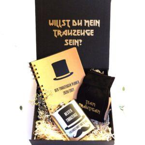 Trauzeugen Schachtel | Geschenk Trauzeuge