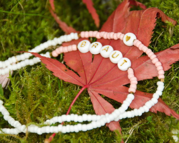 Die Brautkette - Perfekt als Mundschutzkette, Brillenkette, Armband oder als Halskette