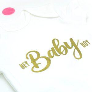 Babybody Strampler Gästebuch Babyparty