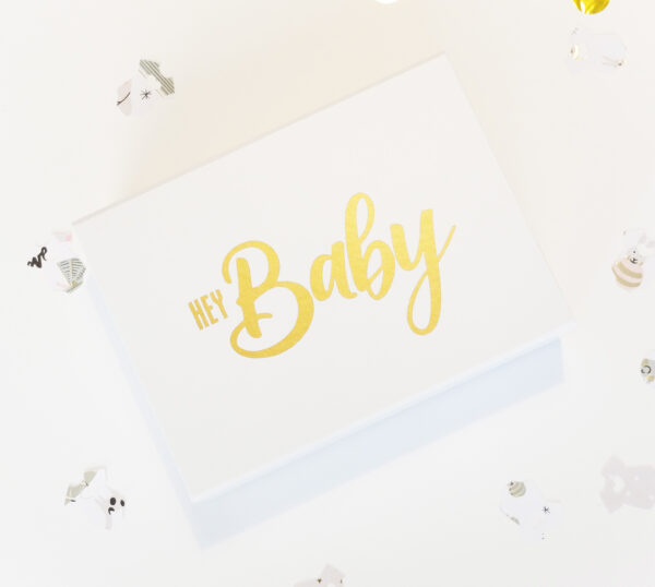 Gender Reveal Party Box