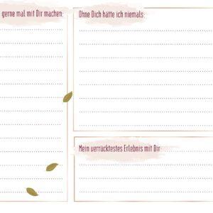 Freunde Poesie | Poesiealbum | Freundebuch JGA